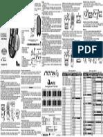 Manual Alcance Control SX2 STETSOM