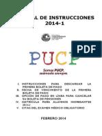 Manual de Instrucciones 2014-1