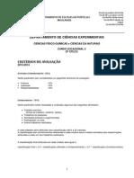 FQ e CN Vocacional 3ciclo