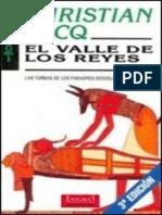 Christian Jacq - El Valle de Los Reyes