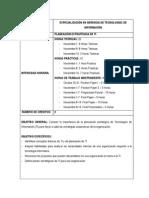 Programa PlaPrograma Planeación Estratégica de TIneación Estratégica de TI - Detallado