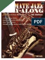 (Saxophone) Eric Marienthal - Ultimate Jazz - Play-Along (Eb)