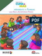 Guía Para El Acompañante Técnico. Servicio de Acompañamiento Familiar. PNCM
