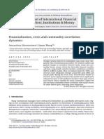 Financialization, Crisis and Commodity Correlation Dynamics