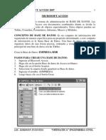 Guia de Aprendizaje Access 2007 Practico