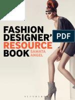 Fashion design resource book