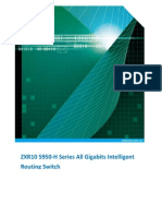ZXR10 5950-H Series All Gigabits Intelligent Routing Switch Datasheet