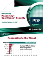 KasperskyOpenSpaceSecurity Presentation