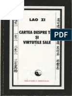 Lao Zi-Cartea Despre Tao Si Virtutile Sale-Editura Ştiinţifică (1999)