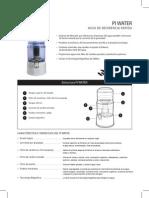 Ficha Tecnica Pi Water