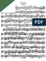 Handel - Sonata V