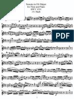 J.S. Bach - Sonata in Eb Major for Flute and Piano BWV 1031 (FLAUTA)