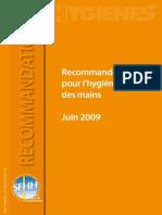 SF2H Recommandations Hygiene Des Mains 2009