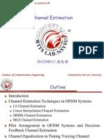 CE in OFDM Sytems 2012