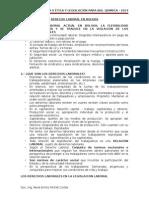 Derecho Laboral en Bolivia