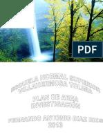 Proyeccion Escuela Comunidad Plan de Estudios