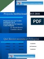 Presentación PEI 2015-2018