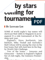 Rugby stars coming for tournament, 6 Nov 2008, Straits Times