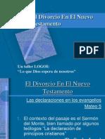 El Divorcio en El Nuevo Testamento Panama