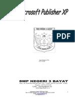 Modul Microsoft Publiser ......dari SMPN 3 Bayat Klaten