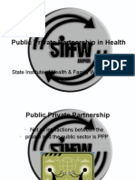 Public Private Partnership in Health