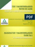 01 Clase No 1 Acueductos Aspectos Generales