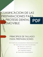 Clasificación de las Preparaciones para PPF y PPR
