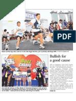 Bullish for a good cause, 21 Nov 2009, Straits Times