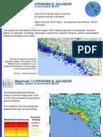 Informe Técnico Terremoto de Fonseca en Inglés