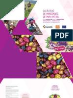 Catalogo de variedades de Papas Nativas con potencial para la seguridad alimentaria y nutricional de Apurímac y Huancavelica
