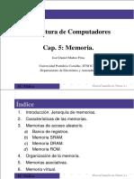 Cap 5 Memoria
