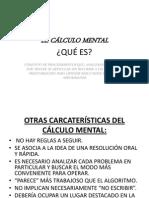 CALCULO MENTAL PARA NIÑOS
