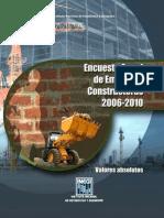 ENCUESTA ANUAL DE EMPRESAS CONSTRUCTORAS 2010
