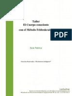 FELDENKRAIS,Guia Teoìrica El Cuerpo Consciente