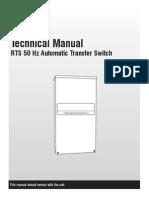 RTS 50 Hz Automatic Transfer Switch