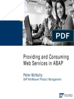 Providing and Consuming Web Services in ABAP