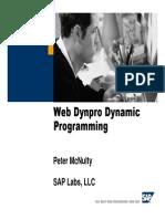 Web Dynpros