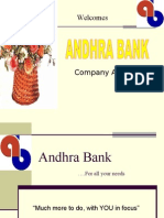Andhra Bank Ppt