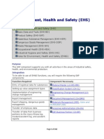 SAP EH&S - Environment Health and Safety- Study Guide