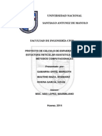 METODOS NUMERICOS - Analisis Isostatico