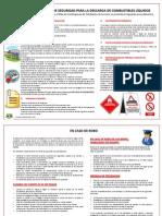 Reglamento seguridad para descarga de combustibles líquidos