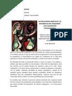 Las Relaciones Objetales y El Desarrollo Del Psiquismo