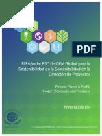 El Estndar p5 de Gpm Global Para La Sostenibilidad en La Sostenibilidad en La Direccin de Proyectos