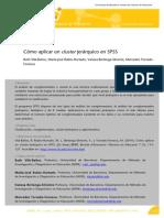 Cómo Aplicar Un Cluster Jerárquico en SPSS 2014