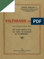 Valparaiso en 1827