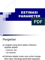 2.0 Estimasi Parameter