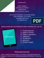 Nivelacion en Lectoescritura a Traves de Las Tic