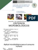 Norma Sanitaria de Criterios Microbiologicos