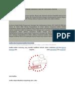 Peraturan Terbaru Mengenai Jabatan Fungsional Auditor