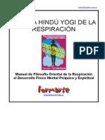 YOGUI RAMACHARAKA - Respiracion